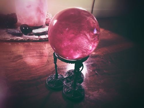 Beautiful scrying crystal - Pinned by The Mystic's Emporium on Etsy