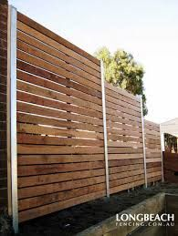 Image result for painted vertical timber battens fence