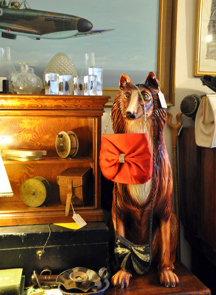 The Keepers Pocket, Hay-on-Wye.  Taxidermy and quirky....