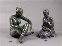 Femme assise adagio by Marie-Paule Deville-Chabrolle