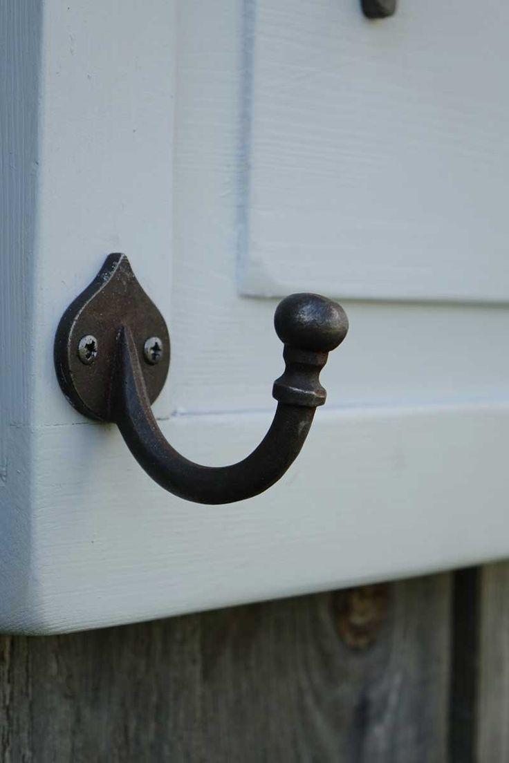 Haki żeliwne  Rustykalne dekoracje dla domu