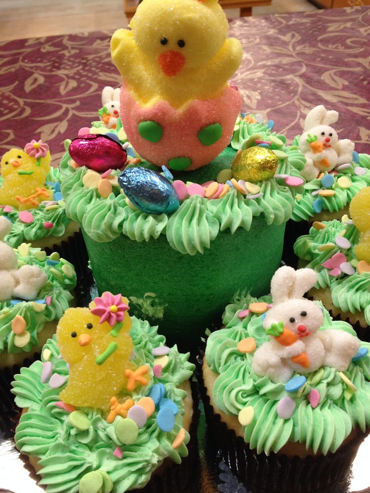 Edible Easter Centrepiece.