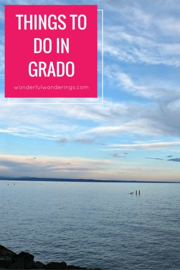 Thinking of traveling to Grado, Italy? Here are some things do see, do and eat in this beach town. Click to read more or pin and save for later.
