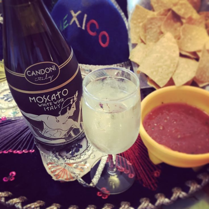 Happy Cinco de Mayo! Celebrate with a glass of Candoni moscato and get ready to enjoy the weekend!