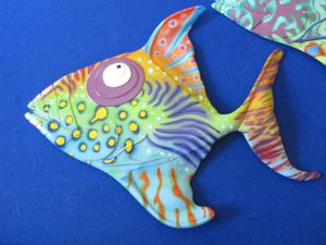 Trigger fish - medium - 33Hx43L