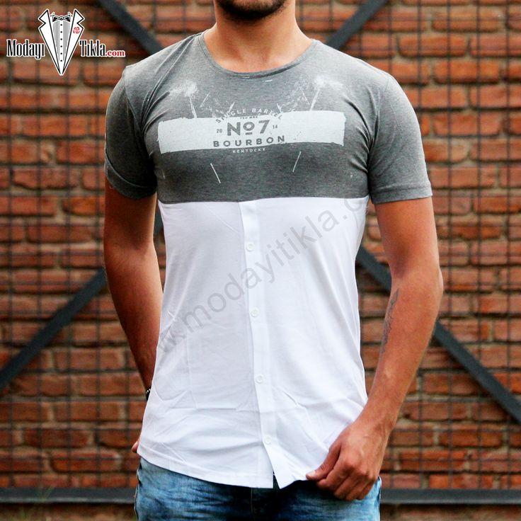No7 Bourbon Beyaz T-shirt