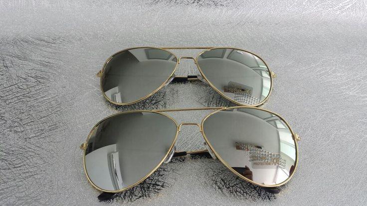 Gafas estilo Rayban Espejo plateadas