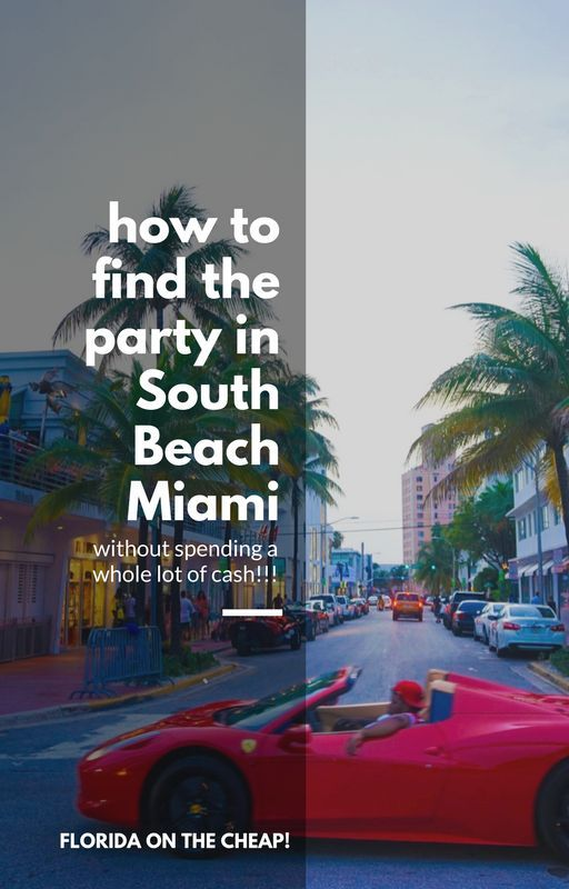 The best party spots in Miami.
