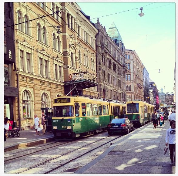 Helsinki, Finland - the only city in Finland to spot trams!