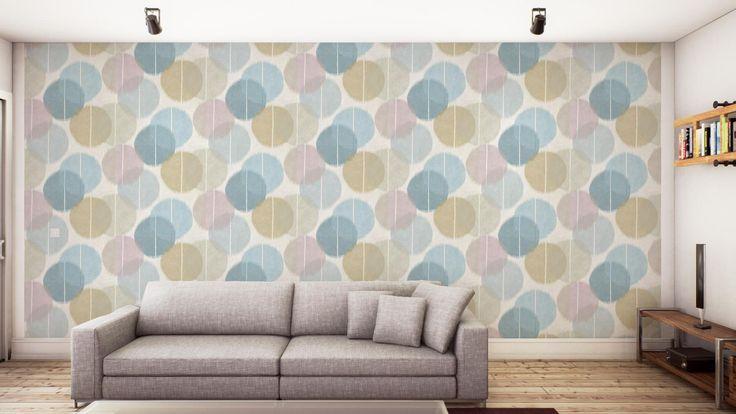 Buy Harlequin 111454 Circulo Wallpaper | Tresillo | Fashion Interiors