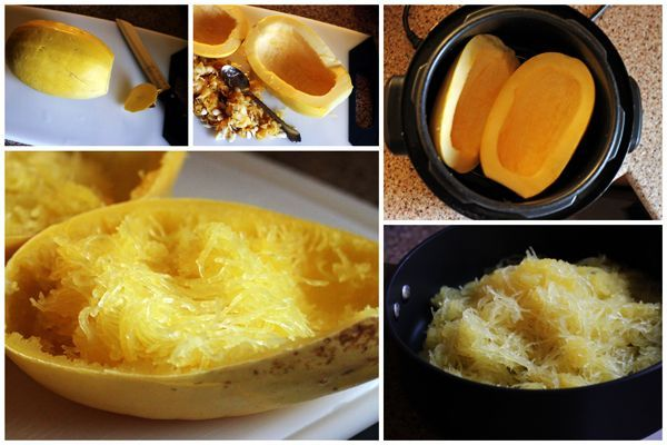 Did you know you can cook spaghetti squash is the pressure cooker?