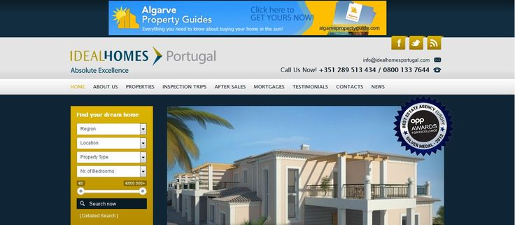 Portugal Property-Ideal homes Portugal the expert Agent, villas, town house, apartments for sale in the Algarve.We assist buyers in their quest to Buy property in Portugal.For Info Visit- http://www.idealhomesportugal.com/