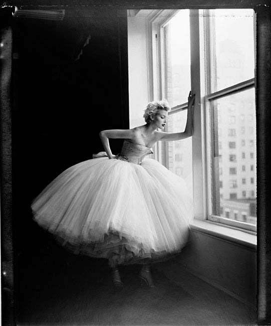 Nadja Auremann photographed by Patrick Demarchelier in New York for Harper's Bazaar.