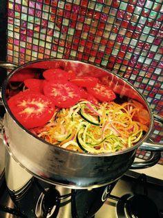 Spaghettis de légumes au Vitaliseur de Marion