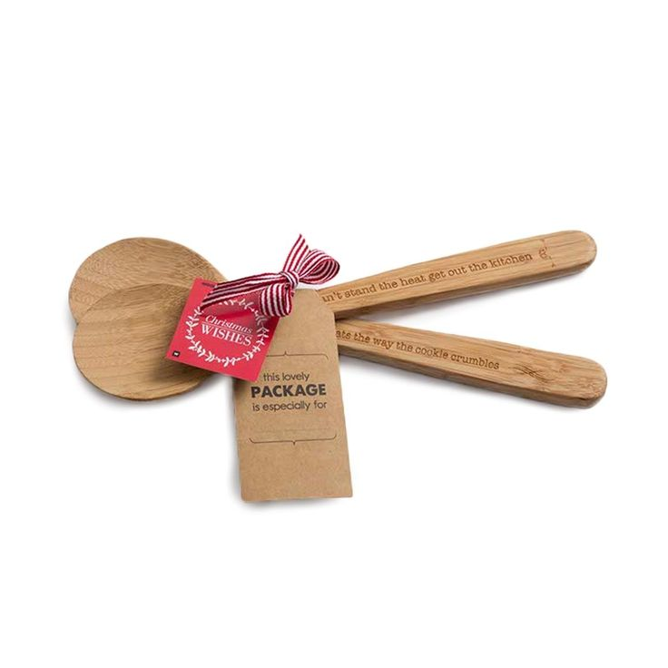 Bamboo Spoons 2-pack