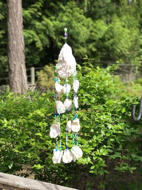 Rediscovering childhood passions can remain deeply entrenched in the autumn of life! - Truly You Life Coaching and Grief Recovery Specialist Chime made for my friend Taiga who embraces the sounds and the colors of the world. 'Singing Dolphin Wind Chimes' Don't worry, Bead happy!