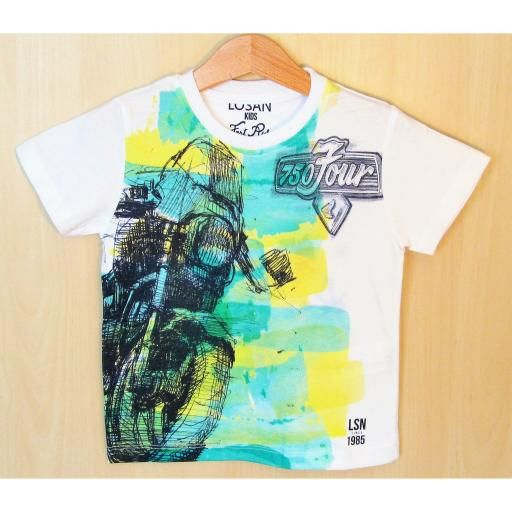 Camiseta Losan Fashion for kids Online. www.compratmodakids.com