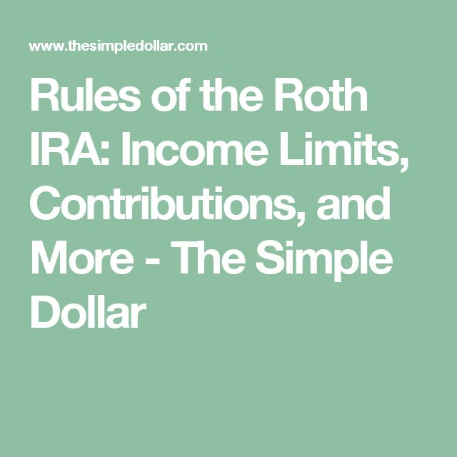 25  best ideas about Roth Ira Rules on Pinterest  Roth ira withdraw, Roth ira calculator and