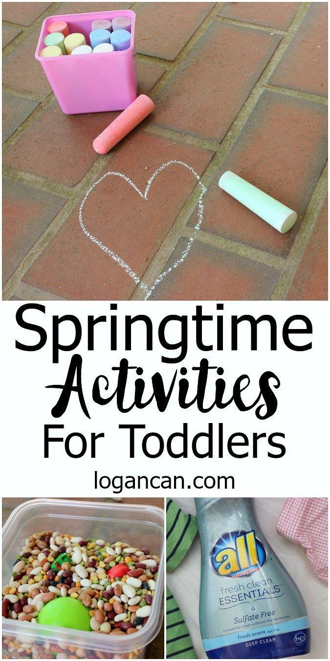 Springtime Activities for Toddlers ad #AllEssentials