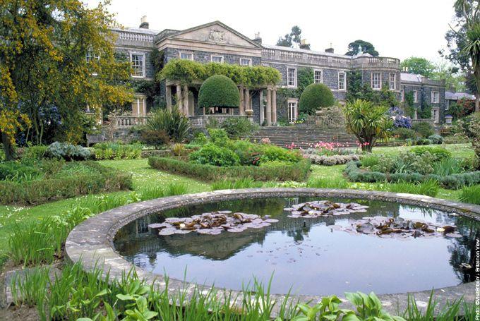 Mount Stewart - 18th-century house and garden in County Down, Northern Ireland.