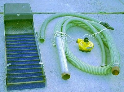 Plan and design your own home made suction dredge for gold mining