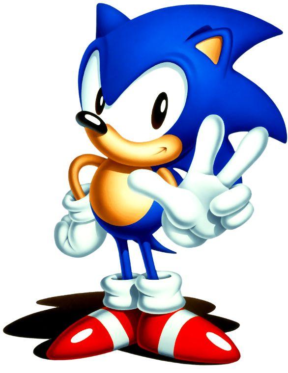 """sonic   Disfruta con Sonic y sus amigos en el nuevo """"Sonic Classic Collection ..."""