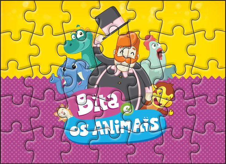 Lindo Kit digital completo com o Tema Bita e os Animais com vários convites, rótulos e caixinhas para você usar na sua festa com o Tema!