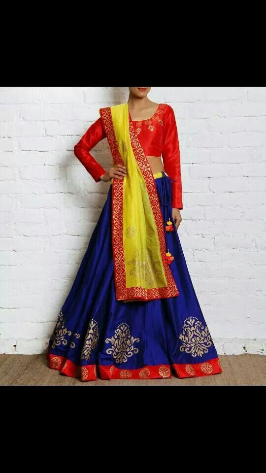 Chaniya choli design