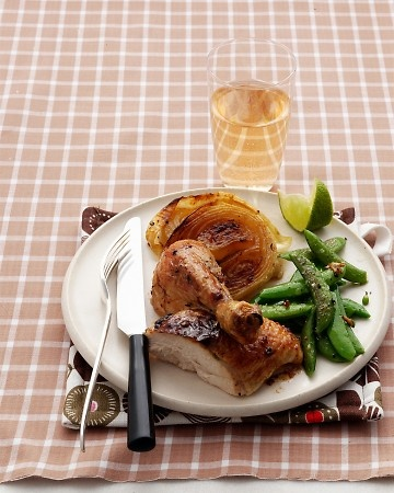 Roasted Chicken with Ginger, Chile, and Lime (Martha Stewart).: Chile, Food Ideas, Stewart Recipes, Roasted Chicken, Limes Recipes, Chicken Roasted, Best Chicken Recipes, Martha Stewart, Gingers Chil Butter