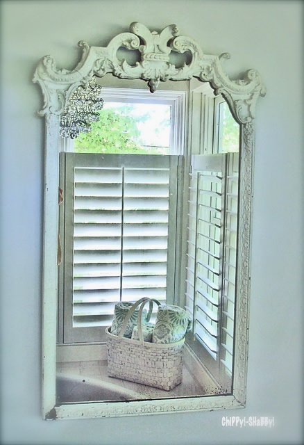 Mirror Mirror On the Wall ~ who's the fairest of them All??? - I'd have to say ~ it's this one in our home.