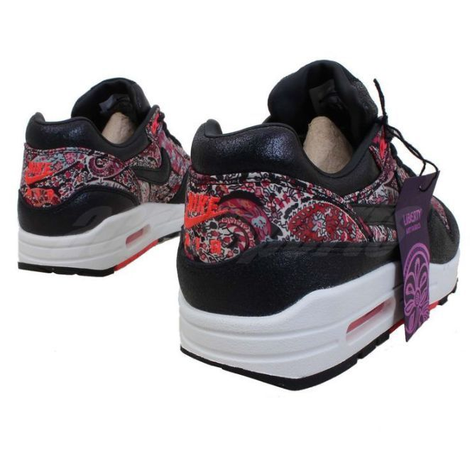 nike air max 1 liberty baskets basses femme multicolore