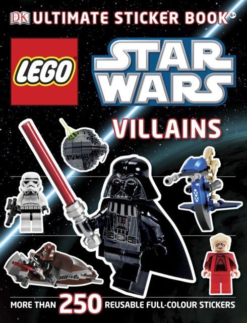 LEGO Star Wars Villains Ultimate Sticker Book (9781405364393) | hive.co.uk