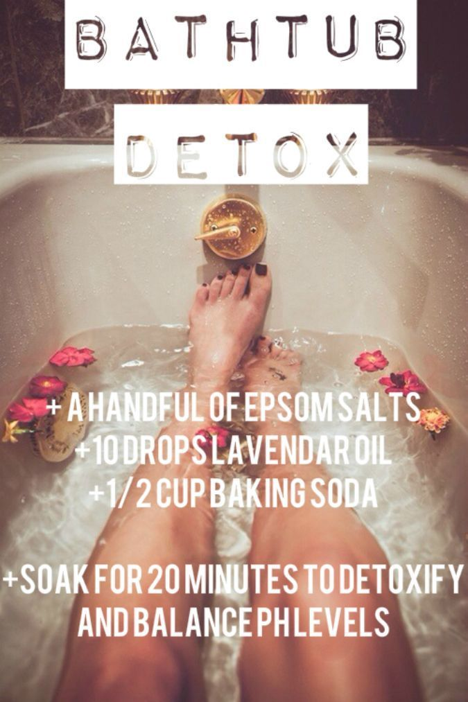 Add these ingredients to your next bath for a DIY detox.