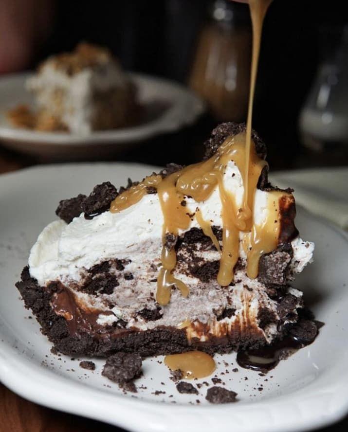 The icebox cake at Maison Pickle is BAE. —Arielle Calderon
