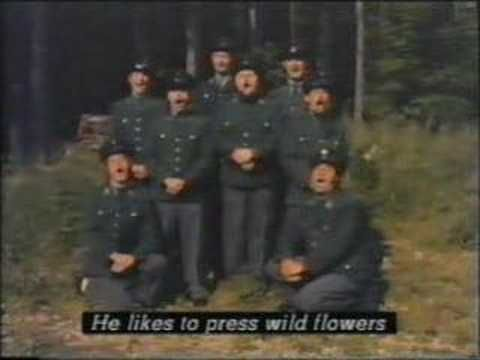 Monty Python's 'Lumberjack Song' in German