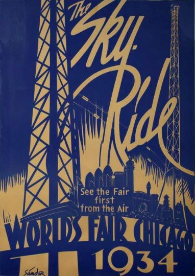 vintage world fair posters