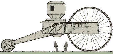 Tancul tarului - Tsar tank 1