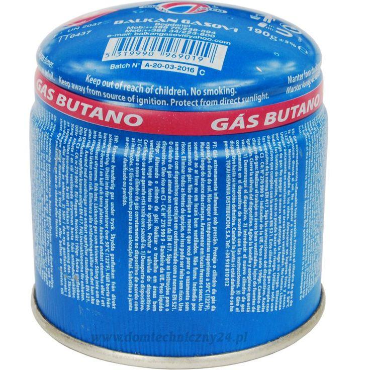 Kartusz z gazem do palników