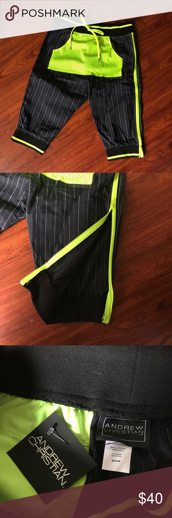 Selling this NWT Stylish Andrew Christian Joggers on Poshmark! My username is: pinheiroadam. #shopmycloset #poshmark #fashion #shopping #style #forsale #Andrew Christian #Other