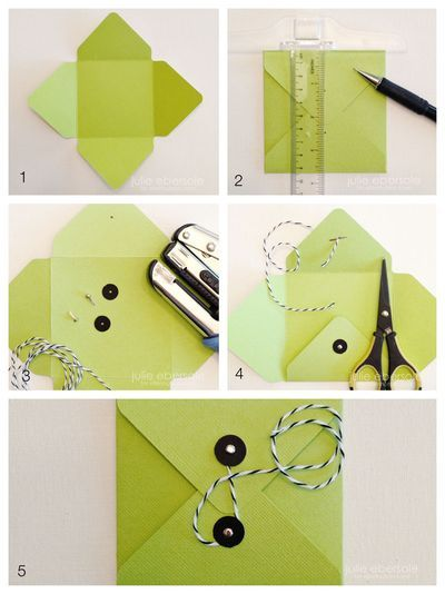 how to make a paper letter envelope