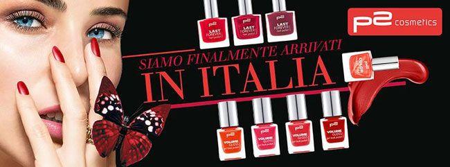 Arrivano anche in Italia gli smalti P2 Cosmetics commercializzati dai punti vendita OVS ed Upim: ilmarchio low cost austriacoche realizza prodotti per lacura delle unghie a prezzi economici tene...