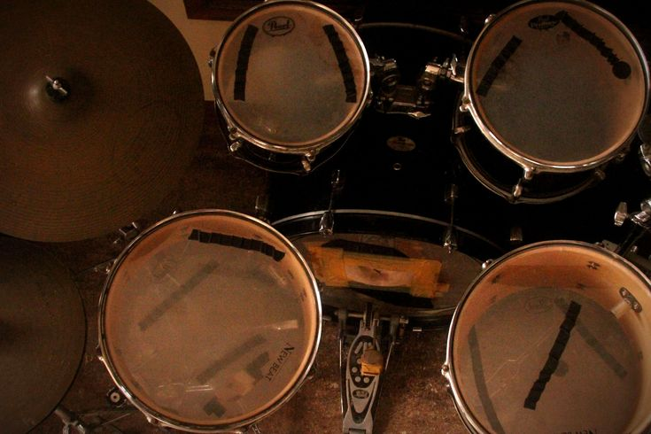 How to Understand the Parts of a Drum Set -- via wikiHow.com