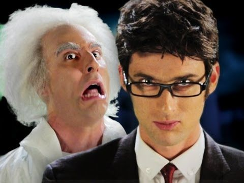 Epic Rap Battles of History: Doc Brown vs Doctor Who....actually, if you don't mind, it's just the Doctor. ;)