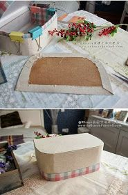 Mi Casa Inventada: Maleta Retrô - Cartonage - DIY