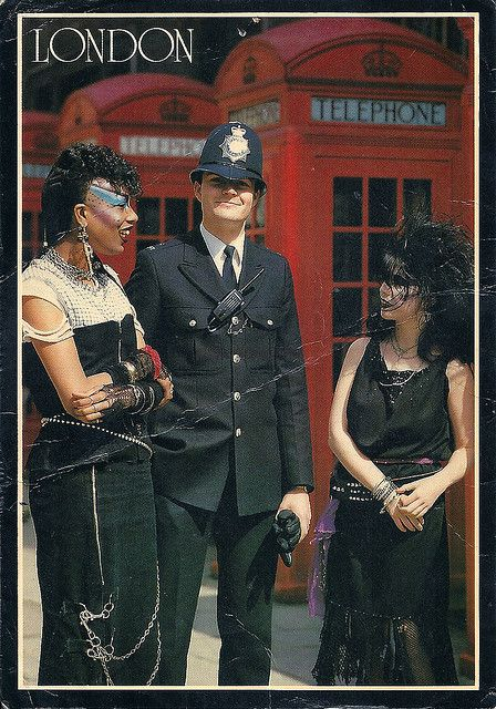 80s Punk Postcards