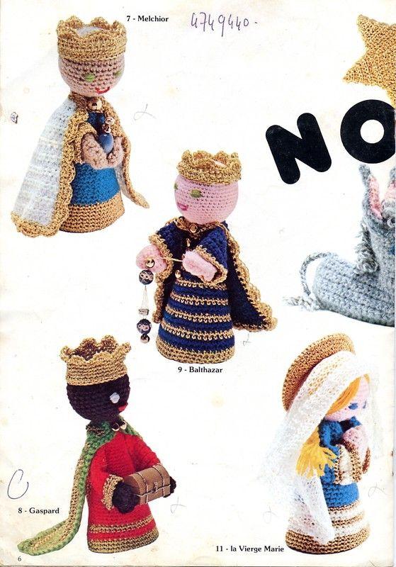 58 best Crochet de Noël images on Pinterest   Amigurumi, Crochet ...