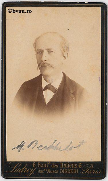 """M. Berthelot, Paris. Imagine din colecțiile Bibliotecii """"V.A. Urechia"""" Galați."""