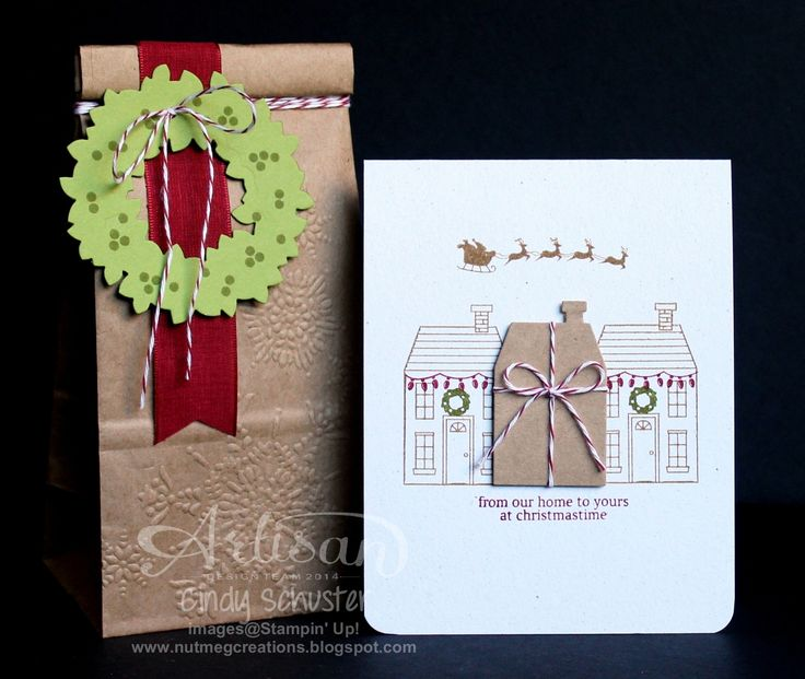 nutmeg creations: Holiday Home - Stampin UP Artisan Blog Hop