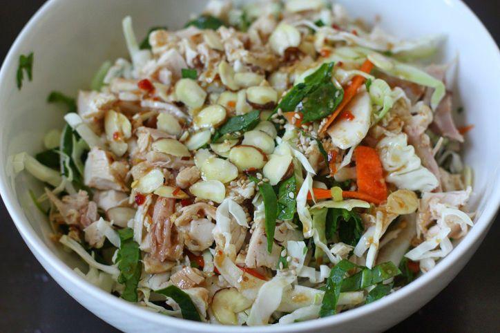Asian chicken salad | Dinner Tonight | Pinterest