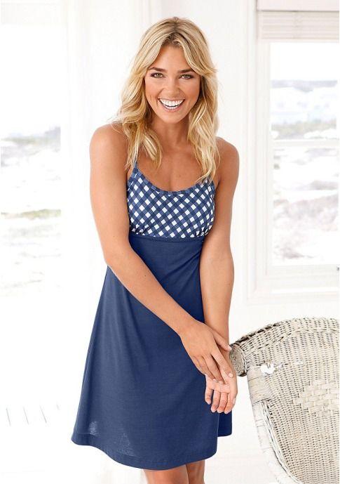 Женщинам - Одежда - Белье и одежда для дома - Ночные сорочки: Ночная сорочка H.I.S. - H.I.S. // Витрина брендов: Женская одежда, мужская одежда в интернете